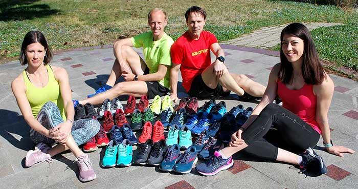 Trenerji testirajo tekaške copate HErvis
