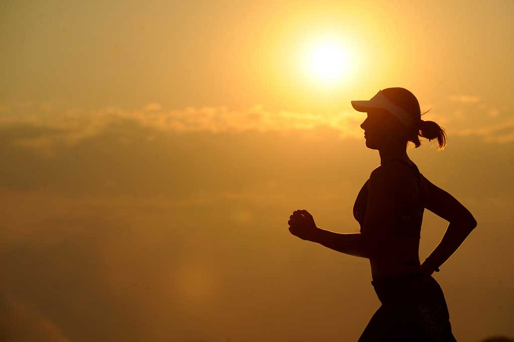 Ženska tekaška kapa