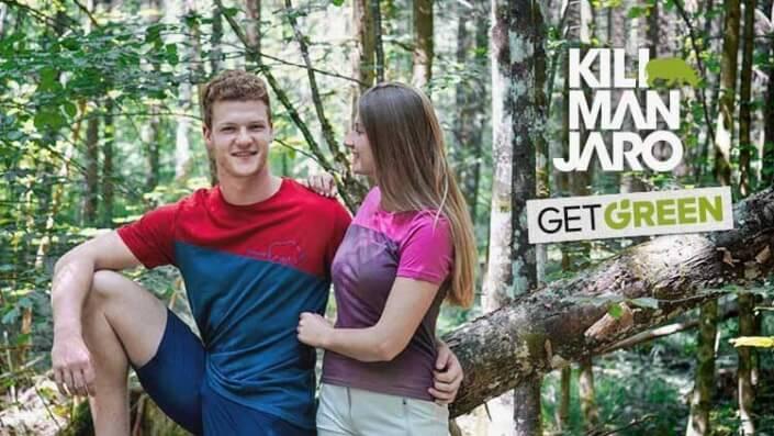 Fant in punca v oblačilih Kilimanjaro Get Green
