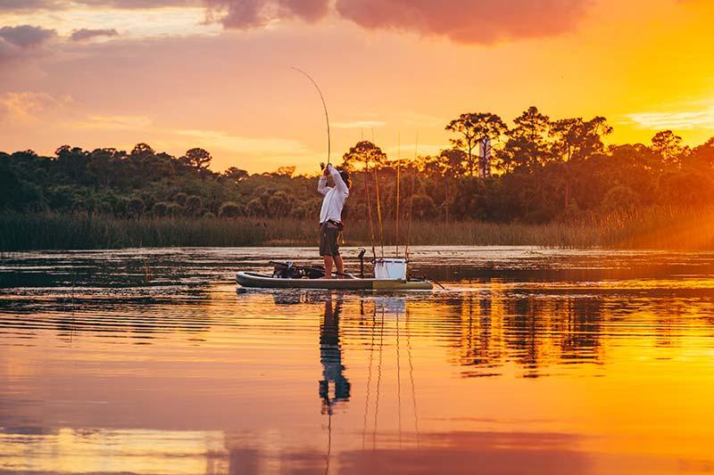 SUP ribolov