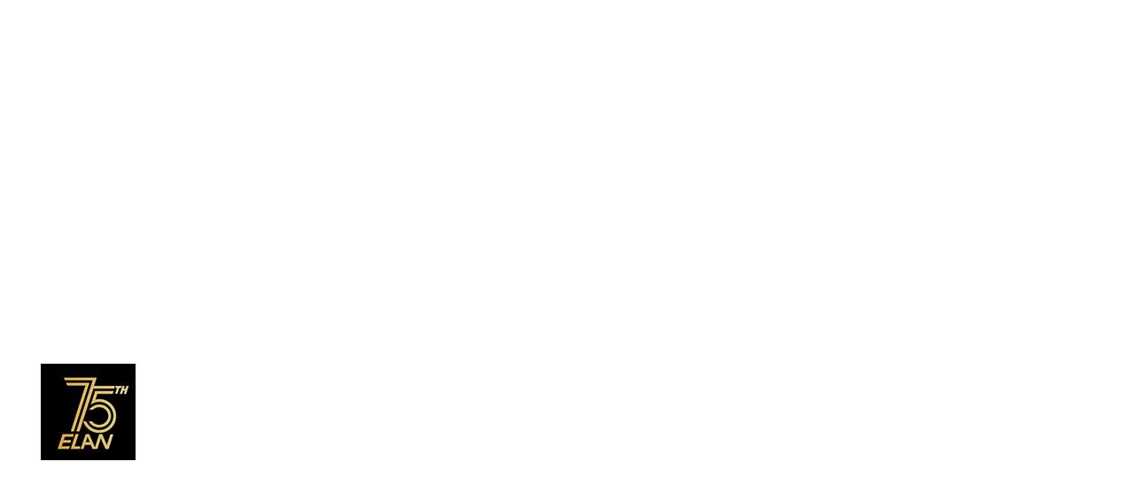 Elan 75 let logo