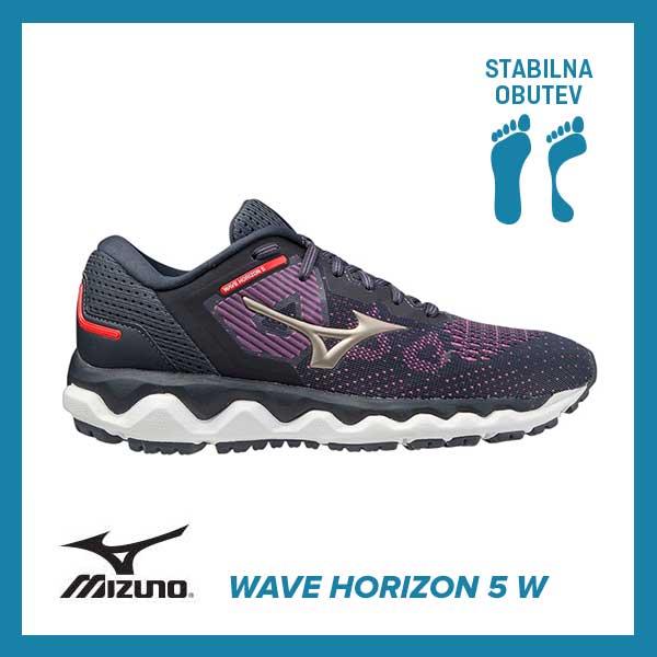Tekaški copati Mizuno Wave Horizon 5 W