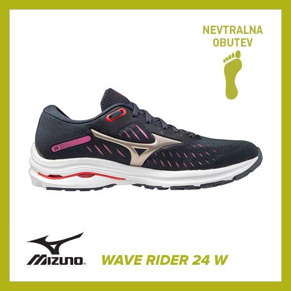 Tekaški copati Mizuno Wave Rider 24 W